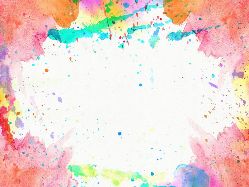 Watercolor Frame Texture Background Free