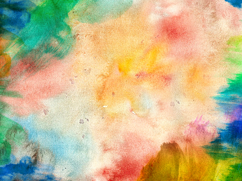 Watercolor Paint Background Free Texture (Paint-Stains-And ...