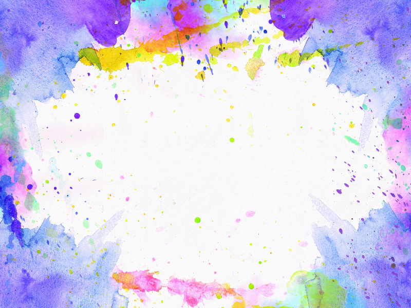 Watercolor Paper Paint Frame Texture Free (Paint-Stains-And-Splatter ...
