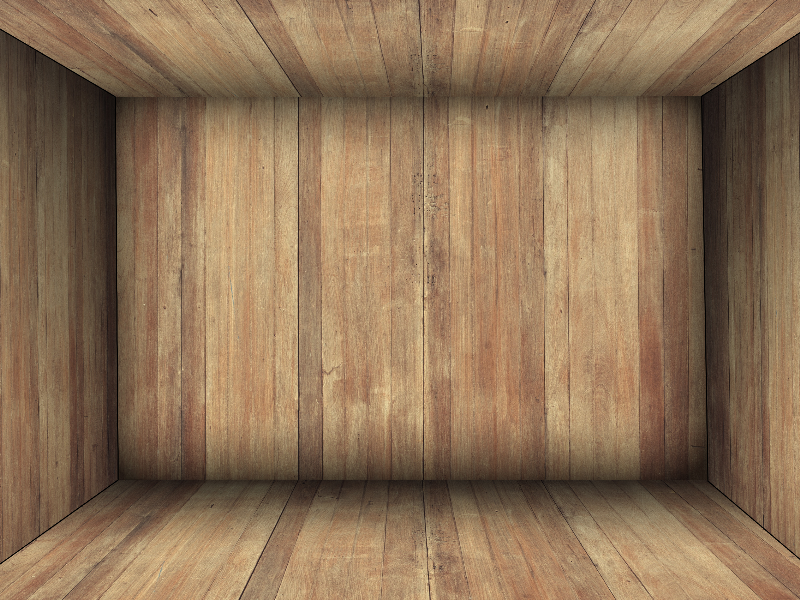Wooden Box Room Interior Background Free text effect