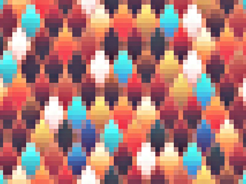 Zigzag Pixel Texture Background for Free